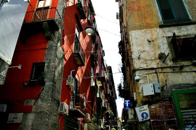 palazzi, zona centrale, Spaccanapoli, Napoli centro