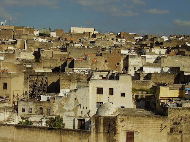 Barrio antiguo de Fes