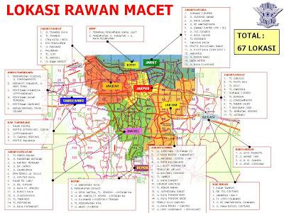 Kelurahan KuninganTimur: Peta Rawan Macet DKI Jakarta