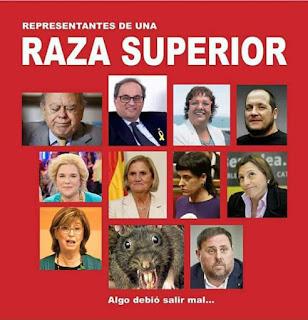 raza superior , Cataluña