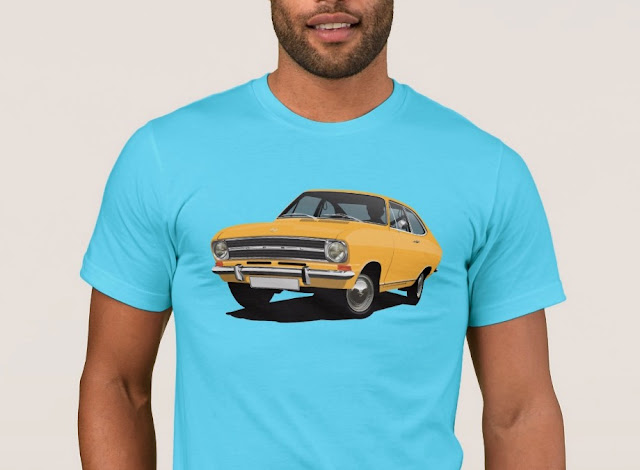60's Opel Kadett B Coupé |Opel Club | T-shirts