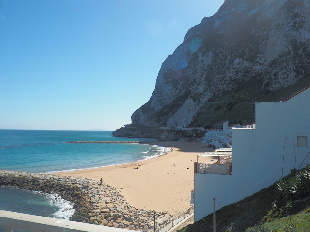 gibraltar beach march