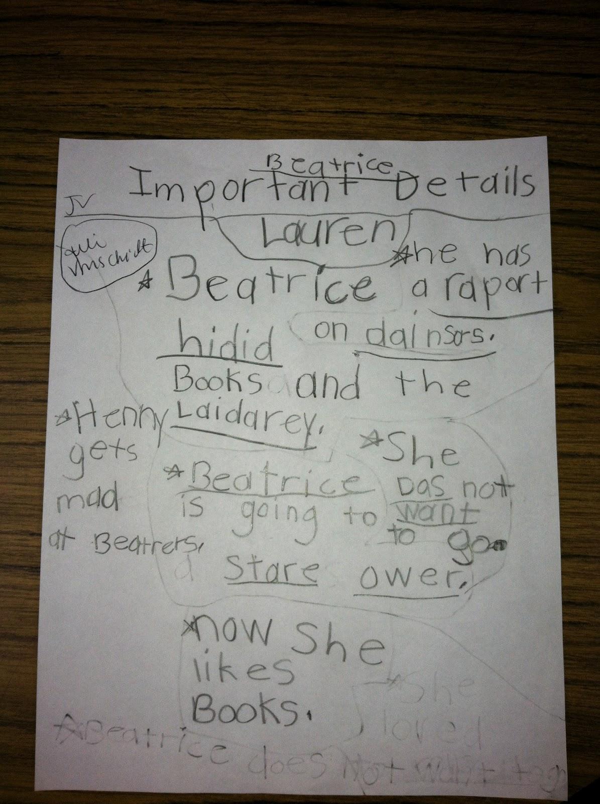 Follow First Grade Writing A Short Summary In 1st Grade