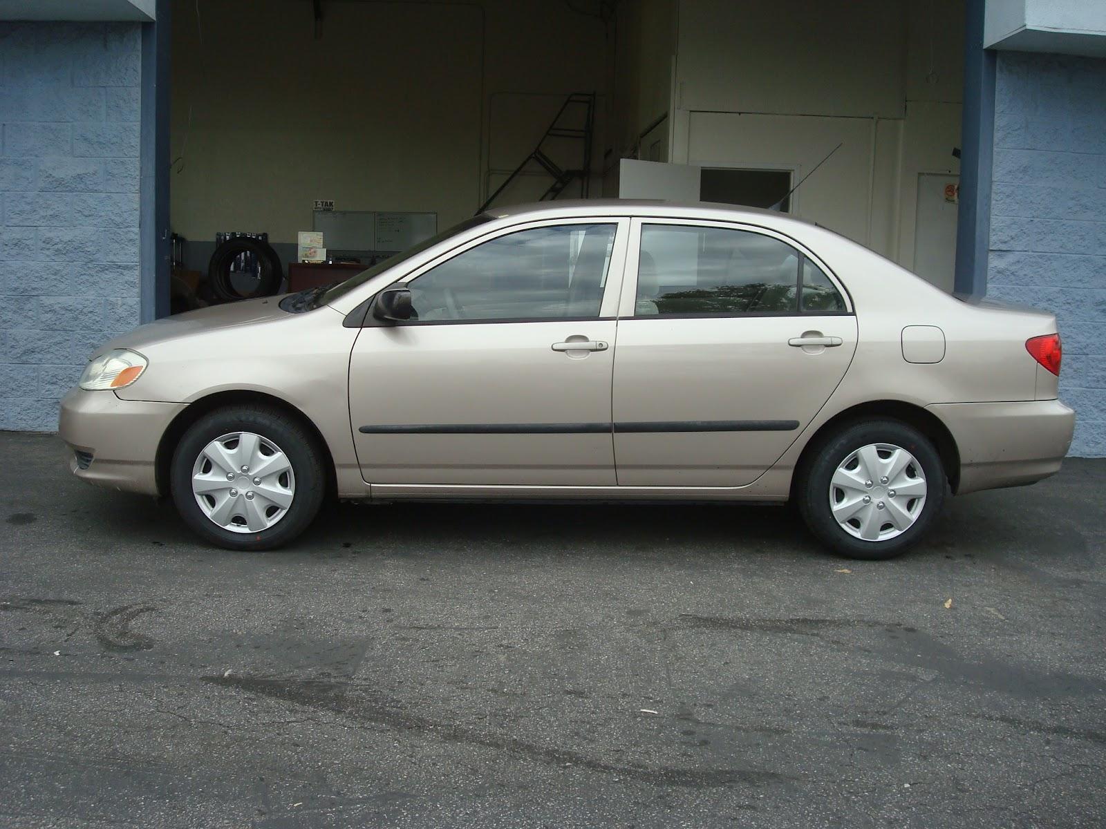 Toyota Corolla Ce Gold K on 2002 Mitsubishi Galant Interior