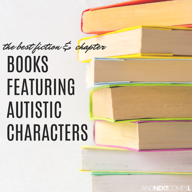 A list of autism fiction and autism chapter books that feature autistic characters