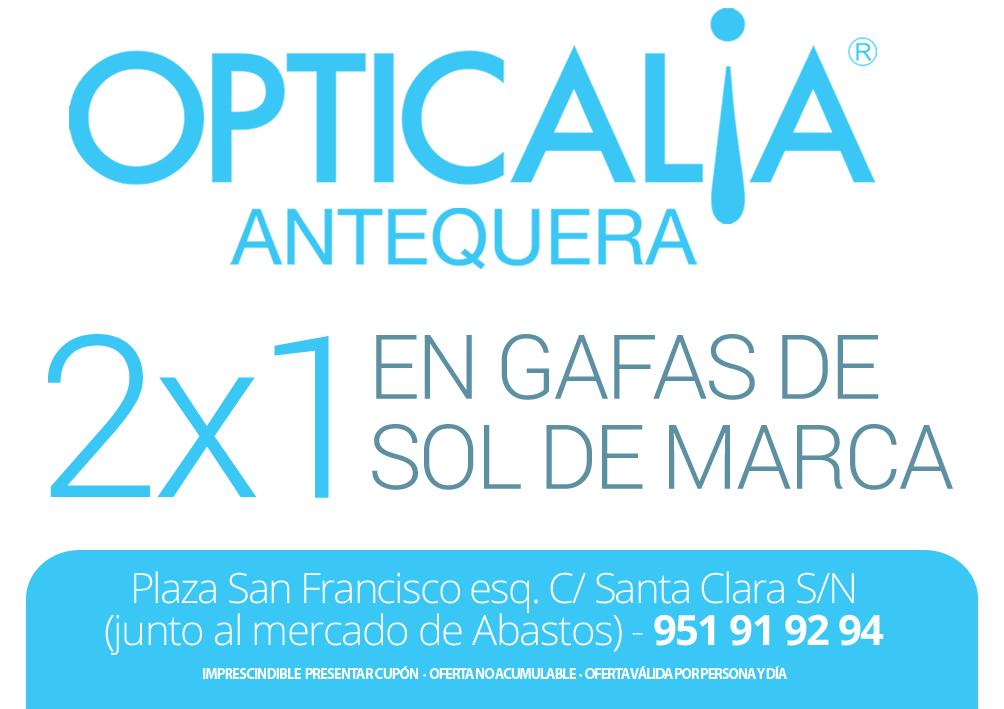 'opticalia Ojos Con Gafas Antequera A De 2x1 Viste Tus Sol Gracias 6fYbgyvI7