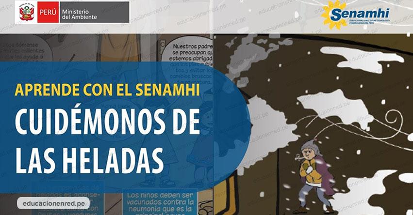 SENAMHI difunde historietas para que los escolares aprendan a cuidarse de las heladas - www.senamhi.gob.pe