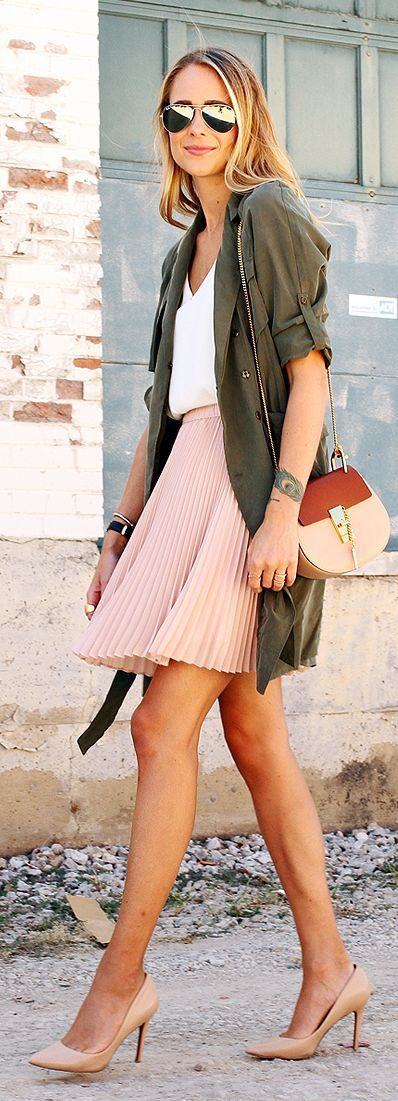 Pink Skirts Summer Outfit To Try
