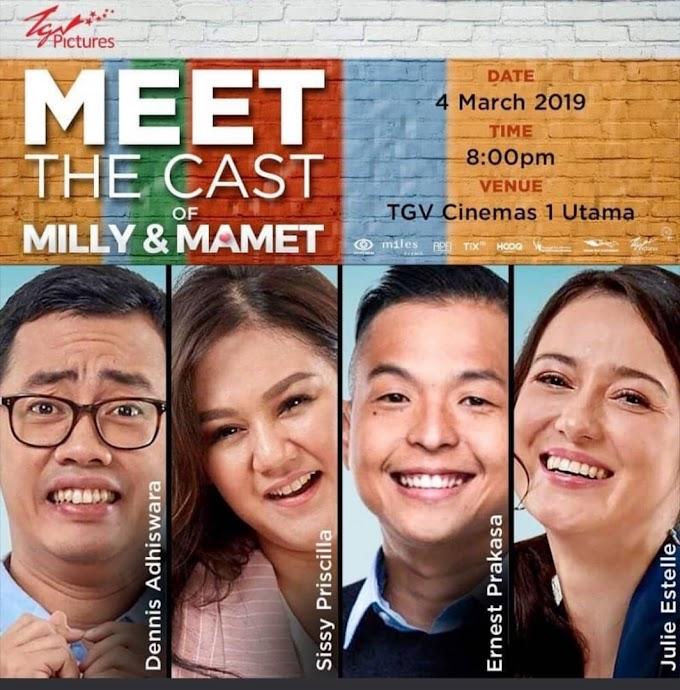 Peraduan Tiket Wayang: Filem Milly & Mamet