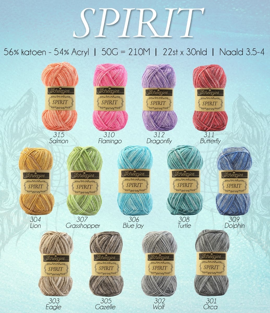 Cotton blend Spirit yarn by Scheepjes: yarn review by Lilla Bjorn Crochet