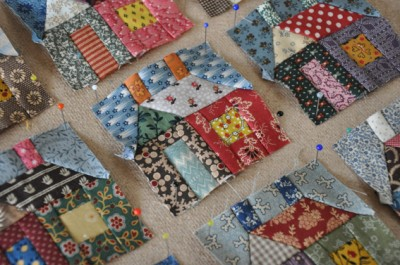Sew Much 2 Luv 2012 Tiny House Quilt Along