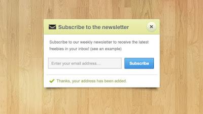 Arahkan Pelanggan Untuk Subscribe Newsletter
