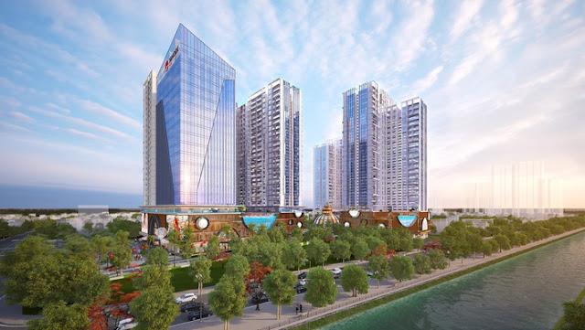 Phối cảnh dự án Hinode city