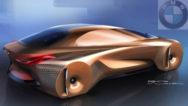 BMW VISION NEXT 100 – The Car Of The Future