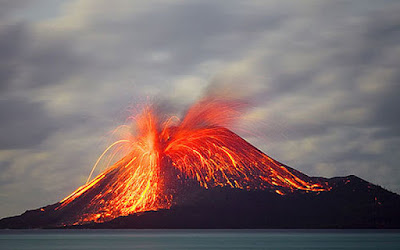 tarihteki en büyük 10 doğal afet / kuwae patlaması