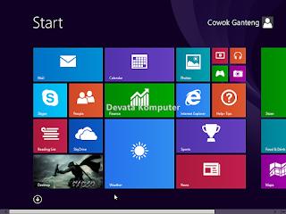 Gambar 5 - Cara Mengembalikan Start Screen Windows 8/8.1 ke Keadaan Awal
