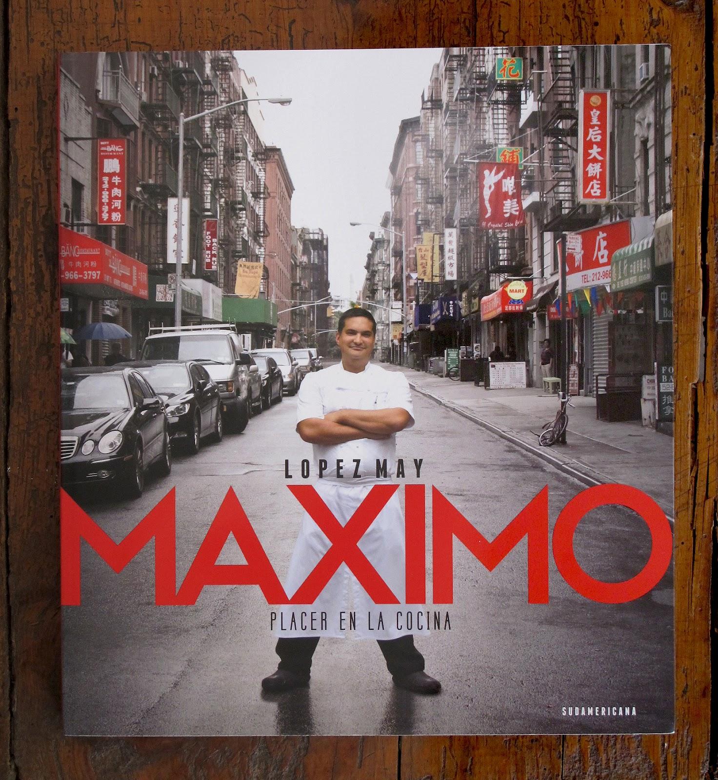 Bienvenidos a mi blog Sale el libro de Mximo Lpez May