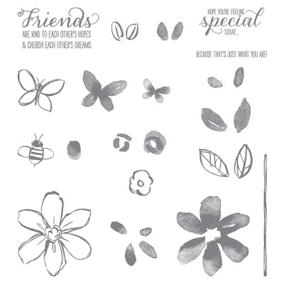 Stampin Up! UK Idependent Demonstrator Susan Simpson, Craftyduckydoodah!, Garden in Bloom, Supplies available 24/7,