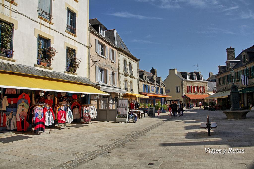 Plaza Saint-Guénolé, Concarneau