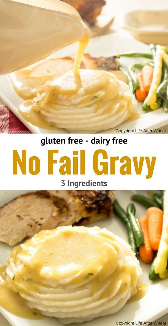 Easy Gluten Free Gravy Recipe