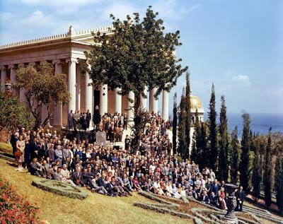 Делегаты первого Международного съезда бахаи, май 1963 г.