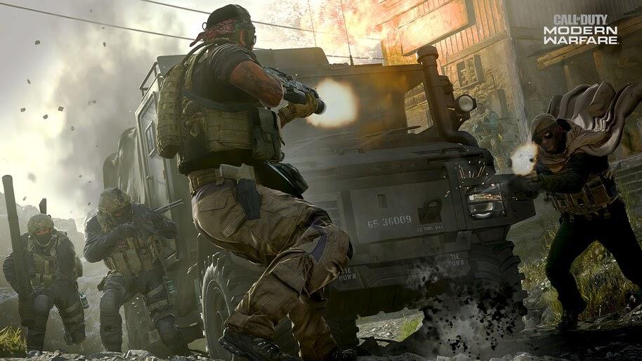 Call Of Duty Modern Warfare Soldiers 4k Wallpaper 5 994