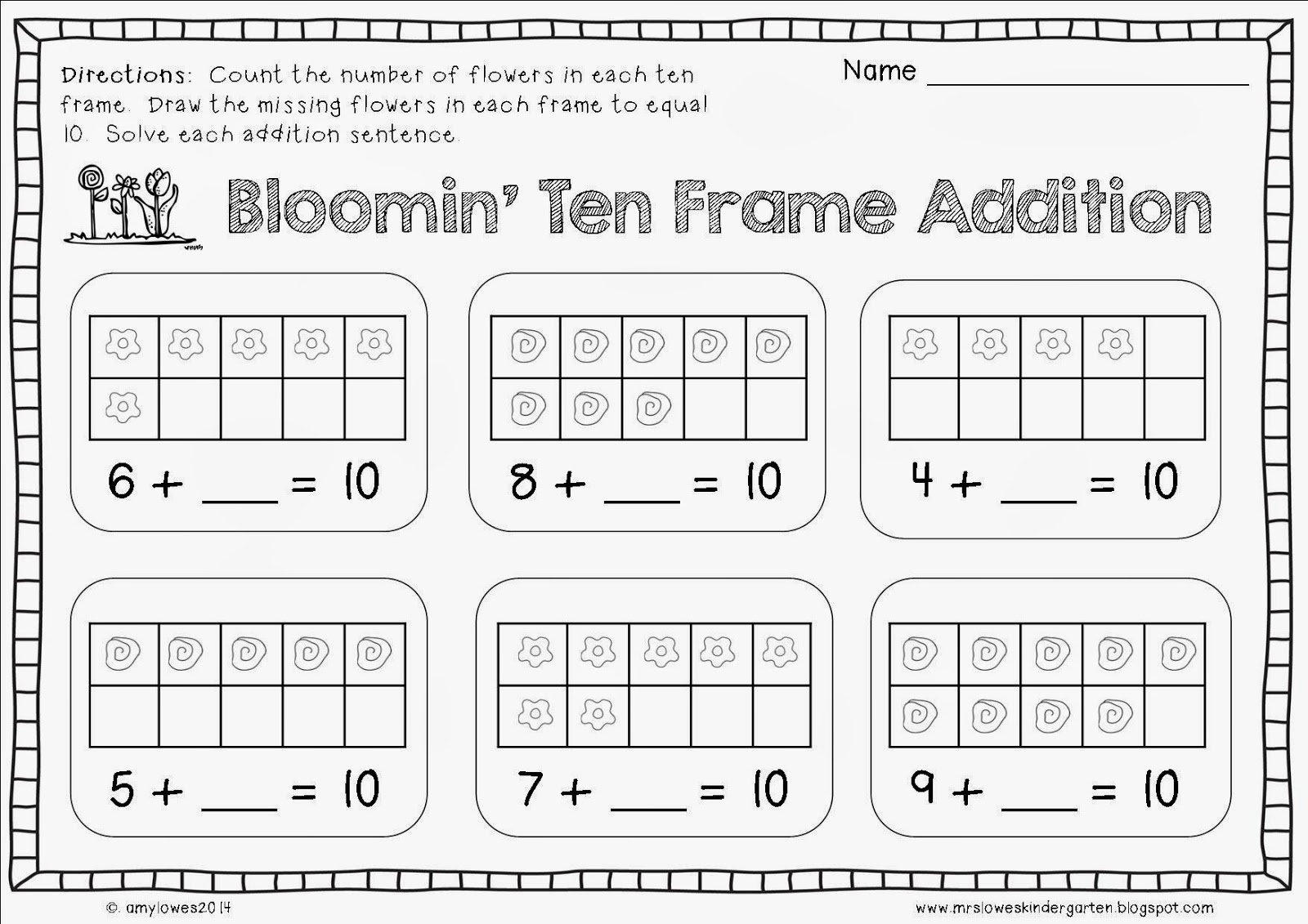worksheet Ten Frame Worksheet Luizah Worksheet And Essay Site – Tens Frames Worksheets