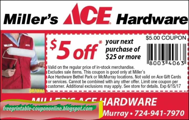 picture regarding Ace Hardware Printable Coupons identified as Ace components discount coupons 2018 / Knight discount coupons