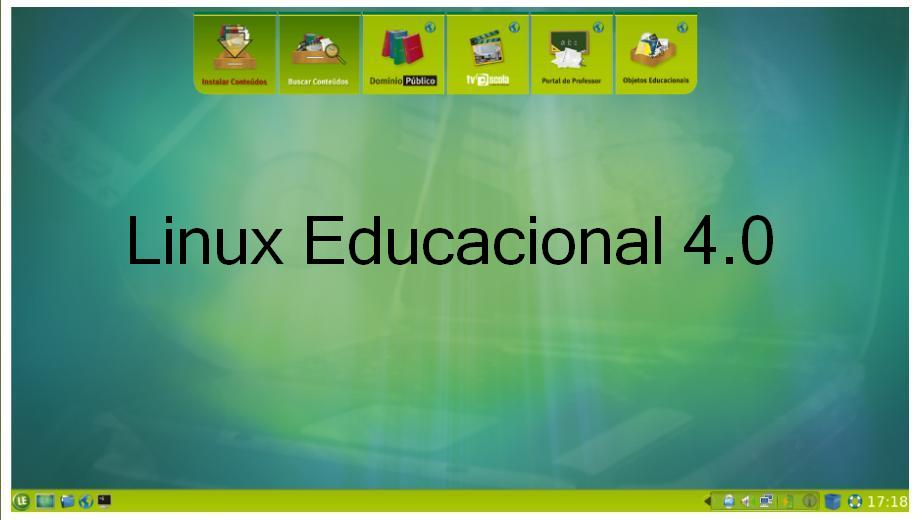 o sistema operacional linux educacional 4.0