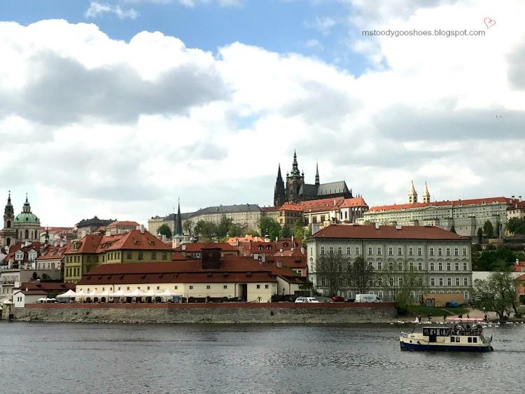 Beautiful Castle Quarter in Prague| Ms. Toody Goo Shoes #prague #castlequarter #danuberivercruise
