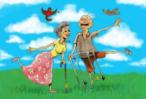 pensionär grattis Fyra årstider : ett grattis till pensionär grattis