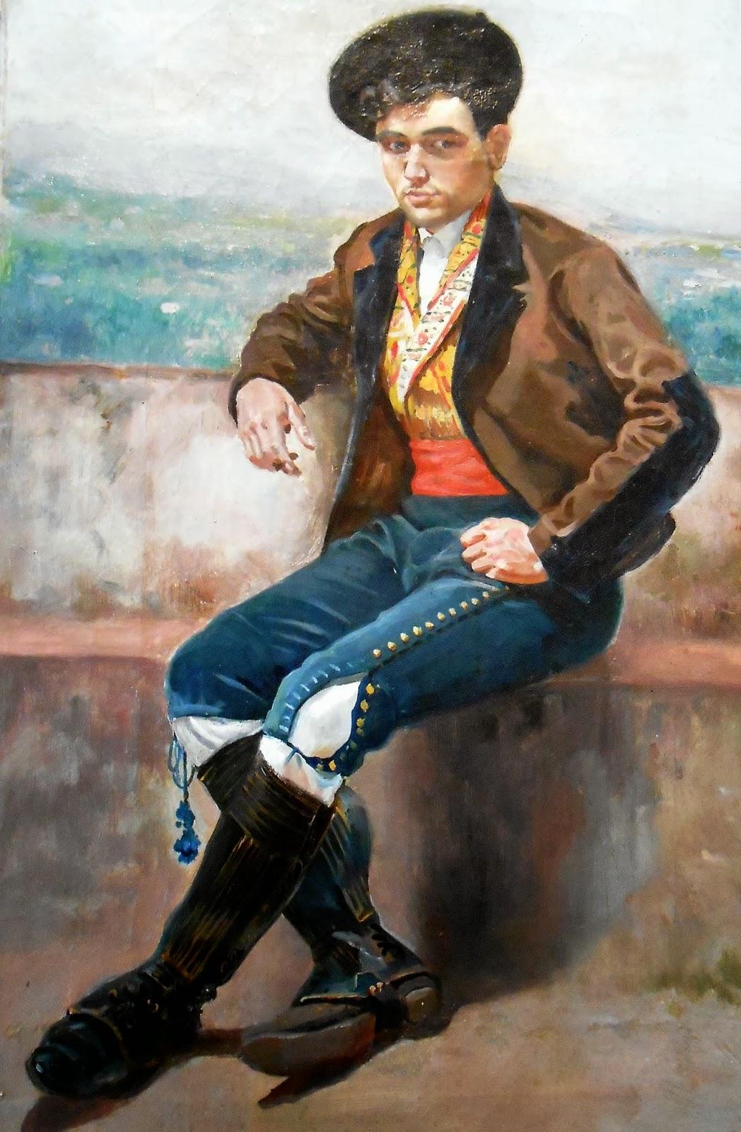 Joven granadino con el traje tradicional. Veamos los botines con las  polainas cortas eafd5ed7ac9