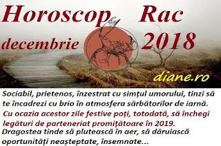 Horoscop Rac decembrie 2018