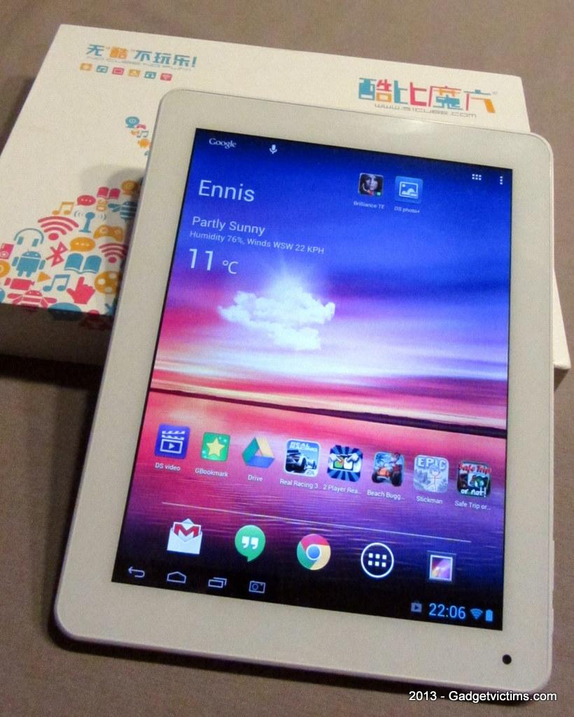 RK3188 Tablet: Cube U9GT5 Review - Gadget Victims