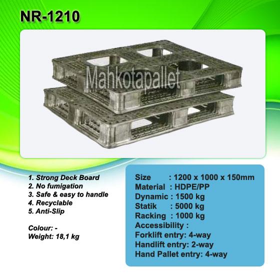 Jual Pallet Plastik NR-1210