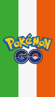 Wallpaper Pokemon GO flag Ireland for Android phone and iPhone Free