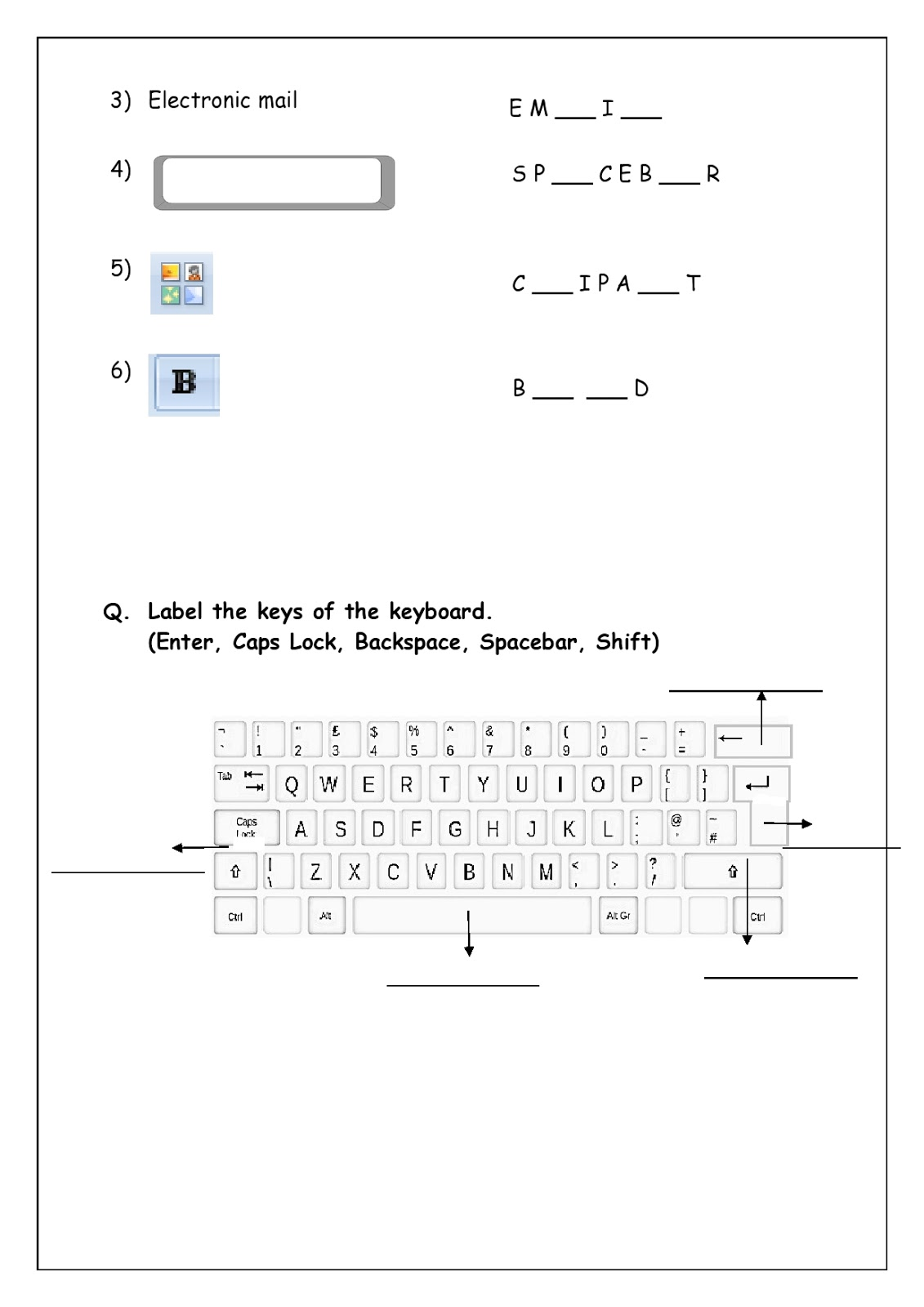medium resolution of Revision worksheets for grade 3   WORLD SCHOOL OMAN