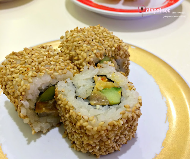 Spicy Tuna Roll from Genki Sushi