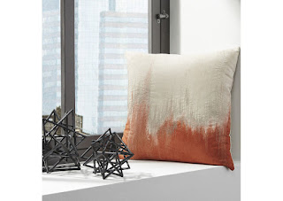 Madalene Orange Pillow