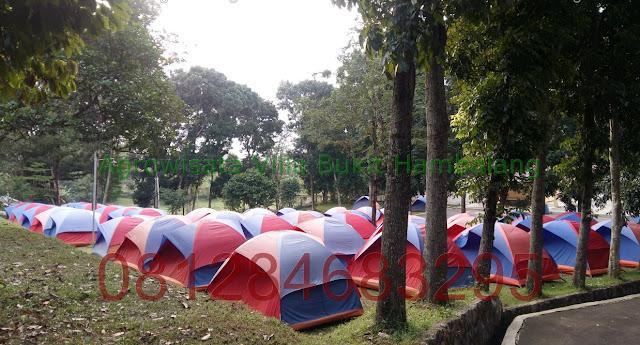 Wisata Camp Ground di Agrowisata Villa Bukit Hambalang Outbound