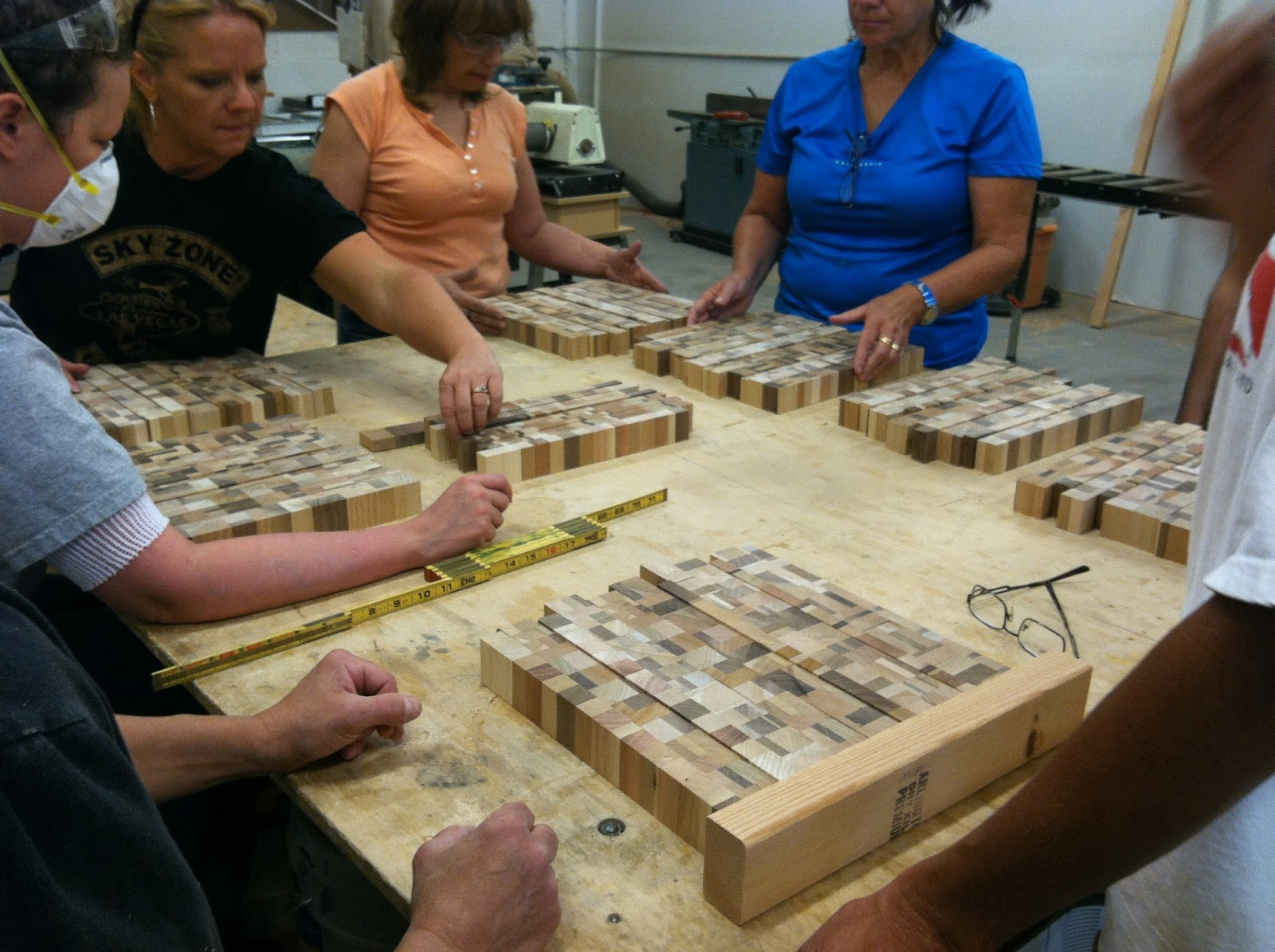 Let's Talk Wood: Let's finish up those end grain cutting ...