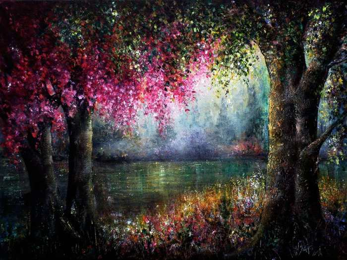 Яркие цвета. Ann Marie Bone
