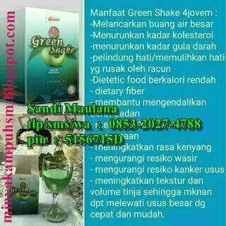 Harga Minuman Kesehatan Jovem Green Shake