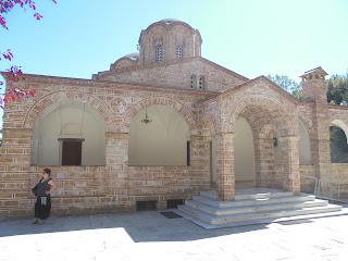 ναός του αγίου Διονυσίου στο ομώνυμο μοναστήρι του Ολύμπου