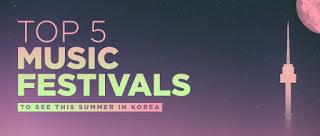 5 Musik Festival 2016 Di Korea