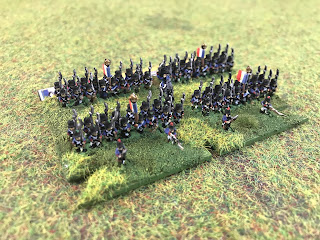Napoleon's 1st brigade of the 14th Division in 6mm