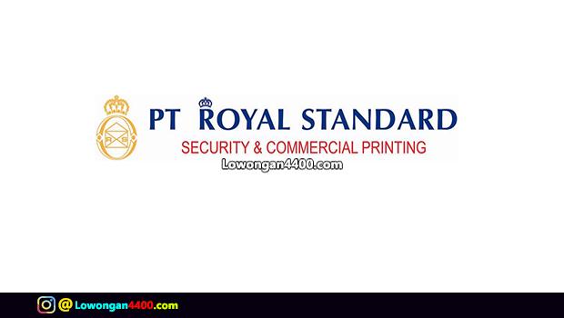 Lowongan Kerja SMK PT. Royal Standard Karawang Januari 2018