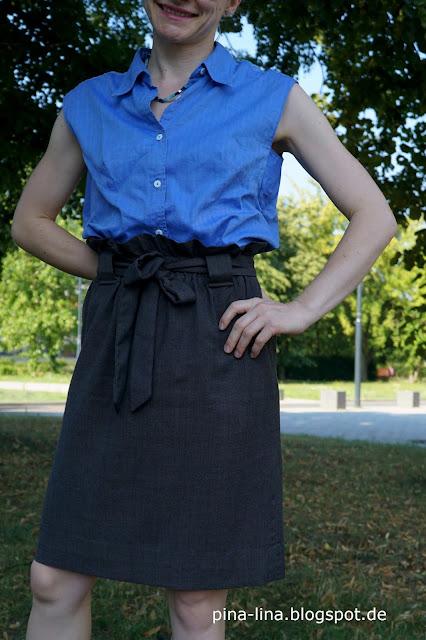 Einfach und toll: Paperbag waist skirt