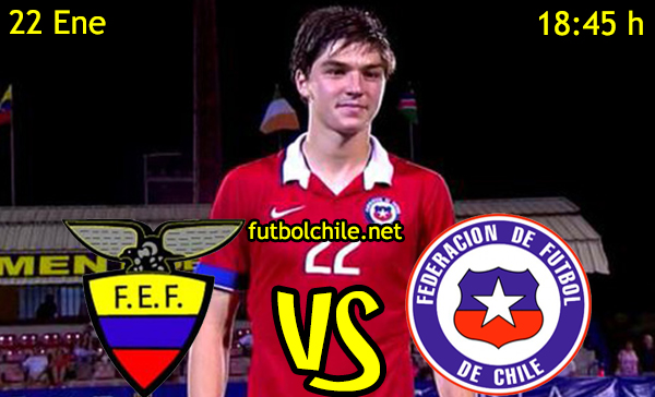Ver stream hd youtube facebook movil android ios iphone table ipad windows mac linux resultado en vivo, online:  Ecuador vs Chile