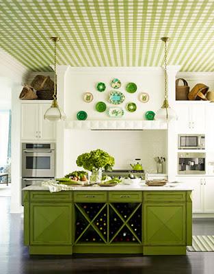 Una Cocina Verde | Decoración